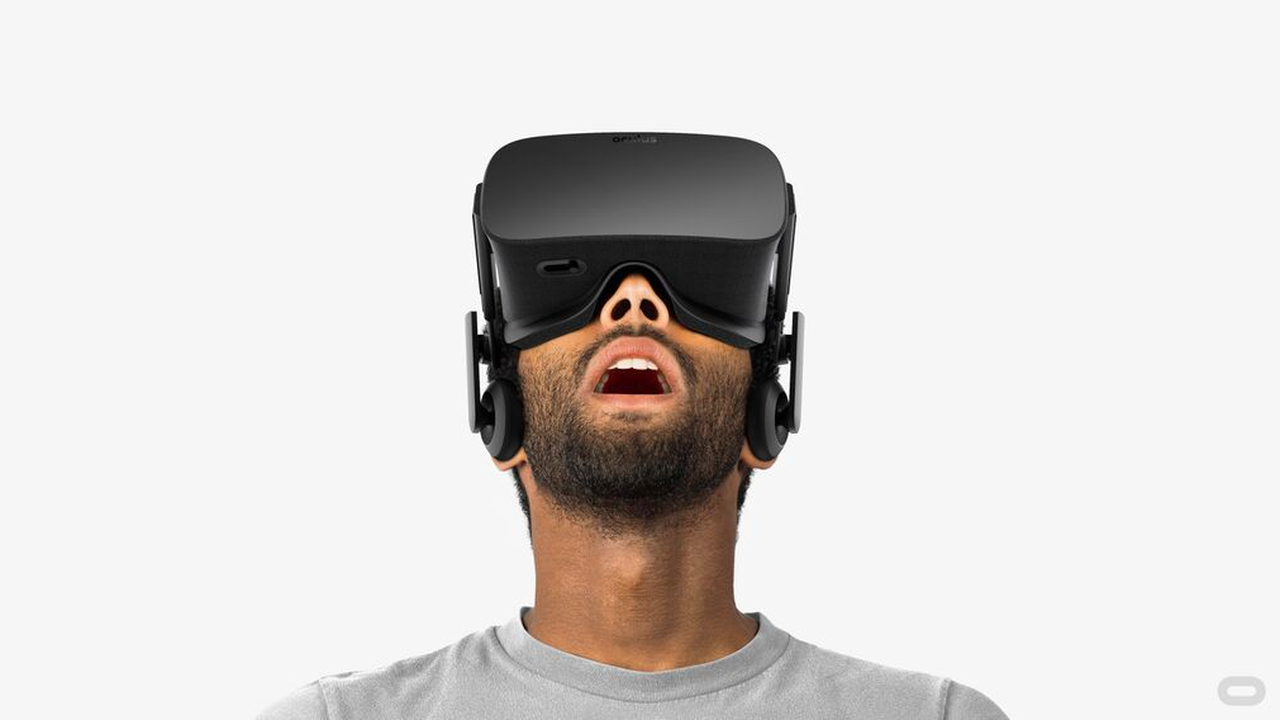 vr headset mouth open