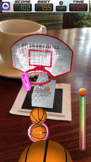ARBasketball, Augmented Reality Basketball Game