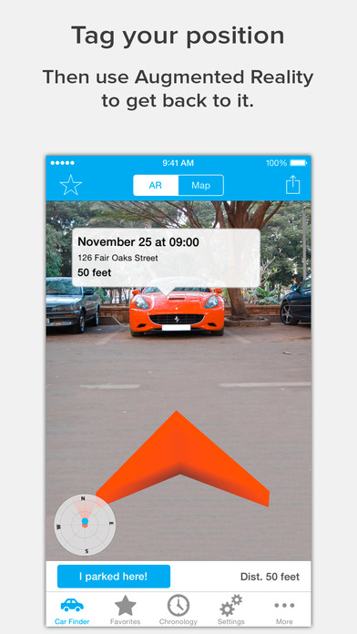 Augmented Car Finder