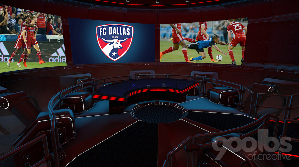 900lbs Of Creative Debuts Virtual Reality Goalkeeper Game For MLS' FC Dallas