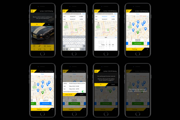 hertz and nokia connected car app