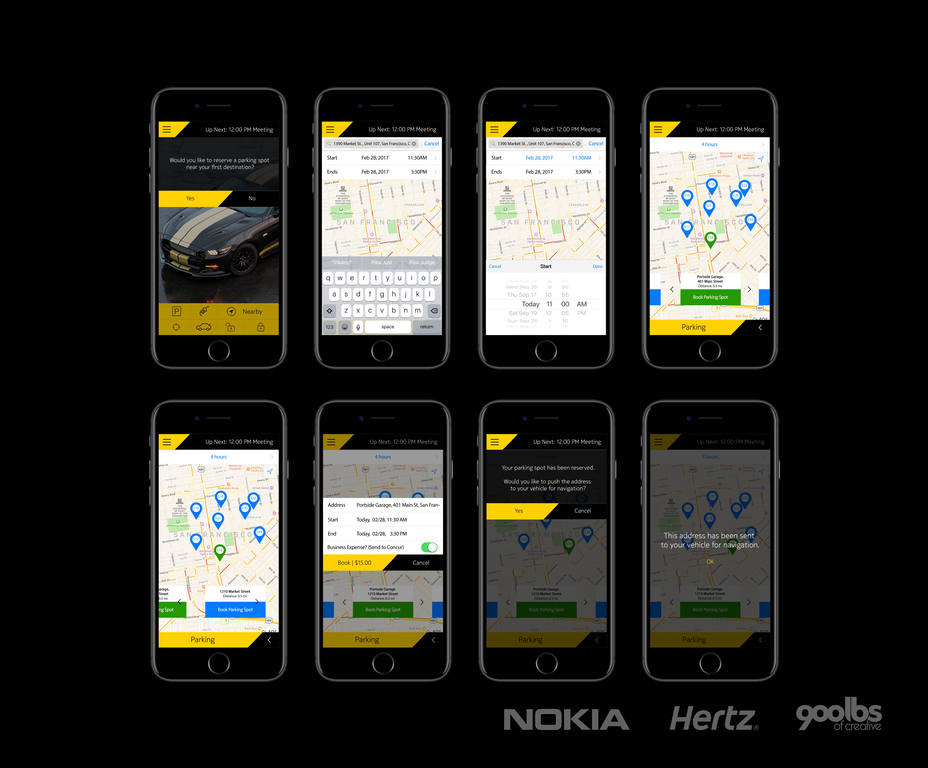 The Nokia Connected Car App