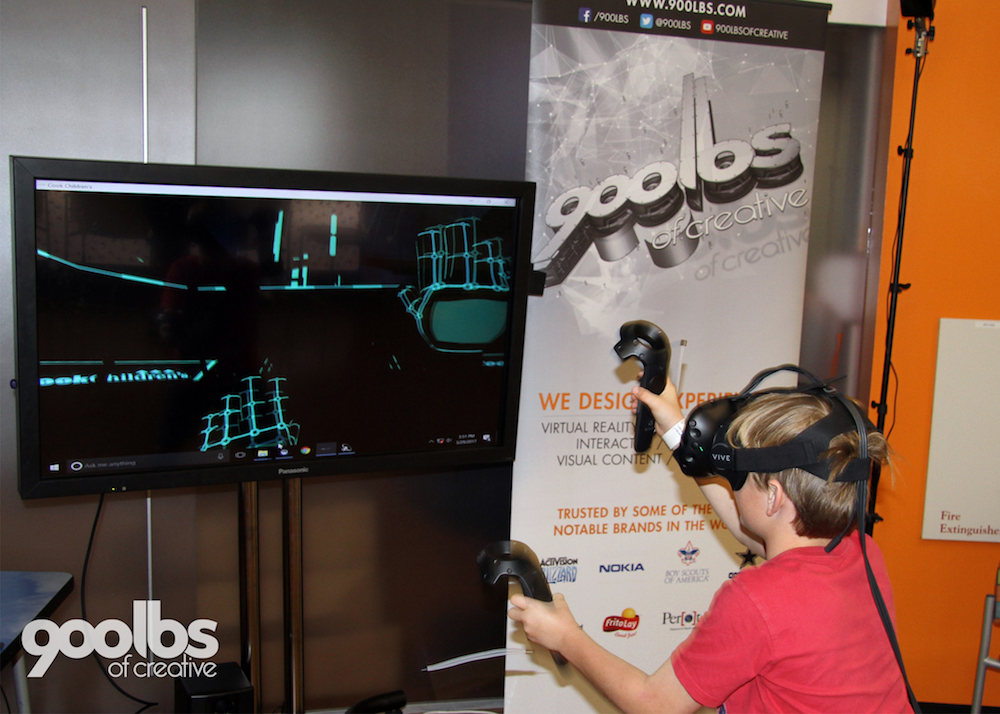 Virtual Reality Helps Provide Fun Escape For Sick Kids