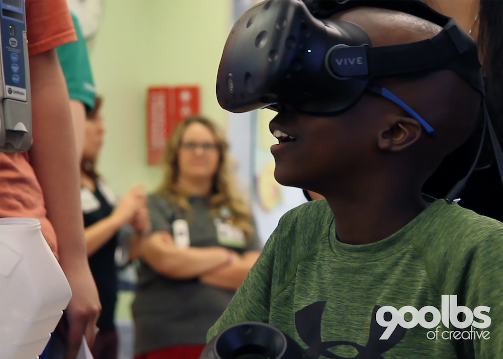 Cook Children's Patients Escape On 'Dreamlike Journey' Via Virtual Reality