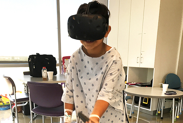 Texas Children's Hospital VR Experience