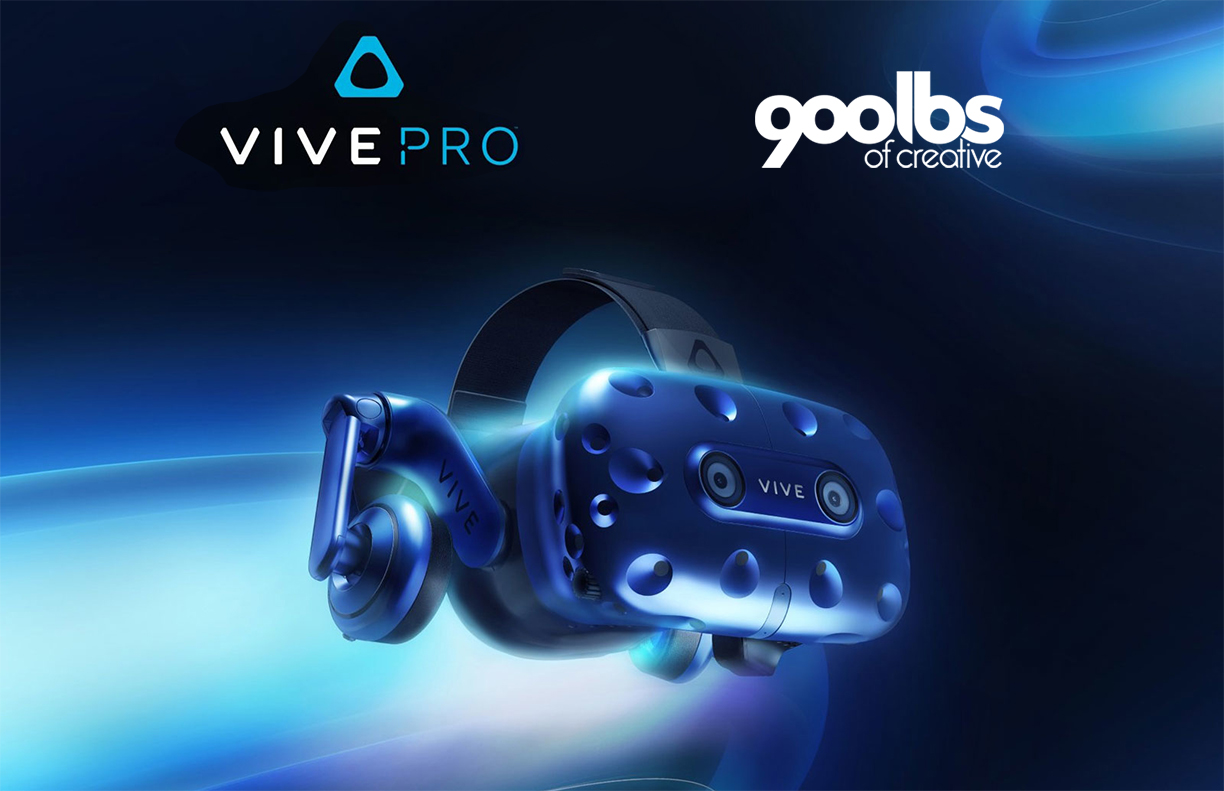 It's Here! Check out the New Vive Pro VR Headset.