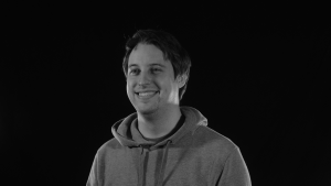 Grayscale Nate Propp team member portrait