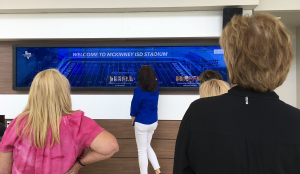 McKinney ISD Touch Wall