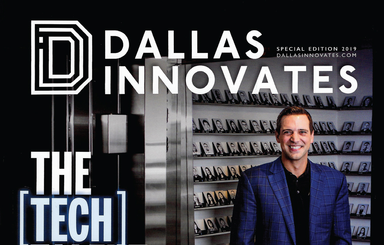 900lbs Highlighted in Dallas Innovates Magazine